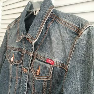 US Polo Assn jean jacket. Medium wash. Size S